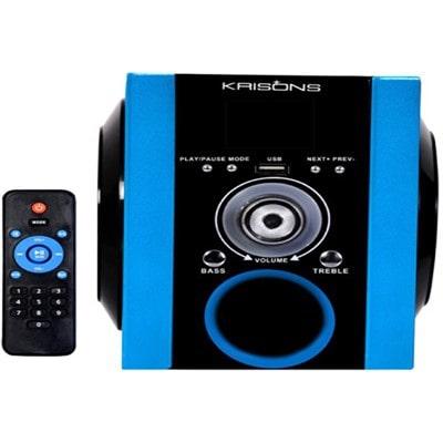 Krisons NB003 2.0 Tablet Speaker (Black & Blue)