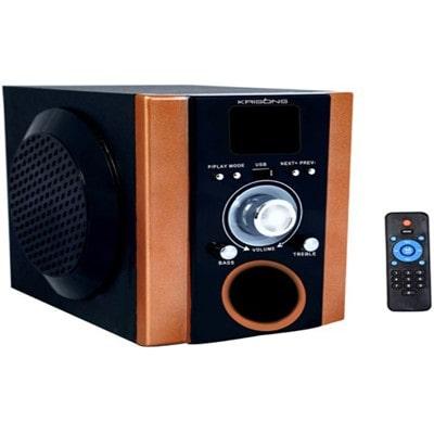 Krisons NG003 2.0 Tablet Speaker (Black & Orange)