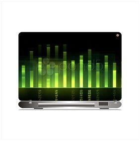 Zap Music Laptop Skin