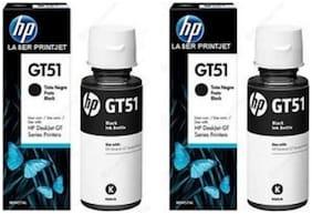 HP GT 51 Black ink Pack of 2