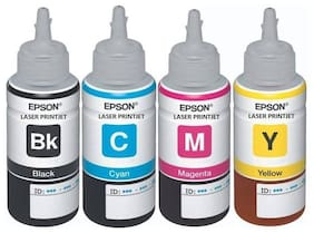 Epson T664 Set Of 4 Multi Color Ink Cartridge