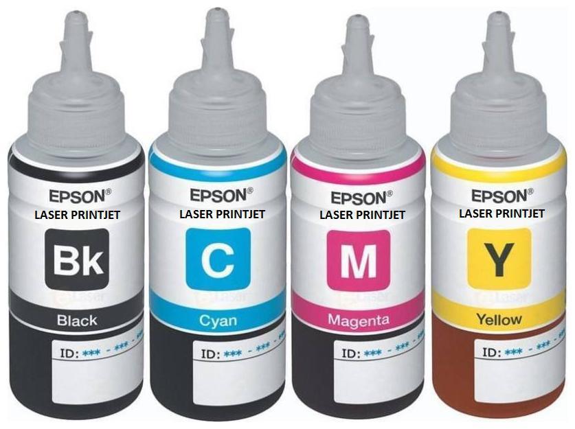 Laser Printjet Epson compatible T6641, T6642, T6643, T6644  BK,printers Multi Color Ink Cartridge
