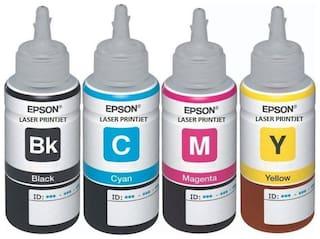 Laser Printjet Epson compatible T6641, T6642, T6643, T6644 -BK,printers Multi Color Ink Cartridge