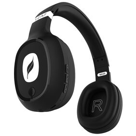 Leaf Bass 1 Over Ear Bluetooth Headsets ( Black )