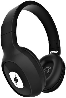 Leaf Bass 2 Over Ear Bluetooth Headsets ( Black )