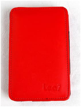 Leaf Pouch For External HDD (Red)