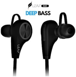 Leaf MGMS In-Ear Bluetooth Headset ( Black )
