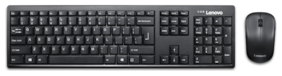 Lenovo 100 Wireless Keyboard & Mouse Set ( Black )