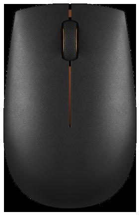 Lenovo 300 Wireless Mouse ( Black )