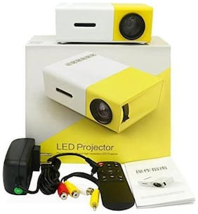 Like Star INI-Pro YG300 Portable Projector  (Multicolor)