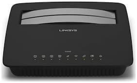 Linksys X3500-N750 750 Mbps WiFi Modem (Black)