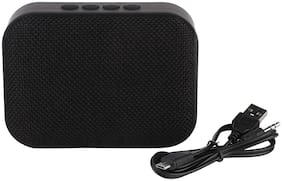Live Tech Portable Yoga Bluetooth Wireless Speaker with Micro SD/AUX/Mic (Black)