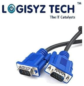 LOGISYZ TECH THE IT CATALYSTS VGA CABLE FOR LED, TFT, TV