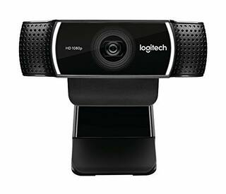 Logitech 1080p Pro Stream Webcam for HD Video Streaming Recording 1080p 30FPS