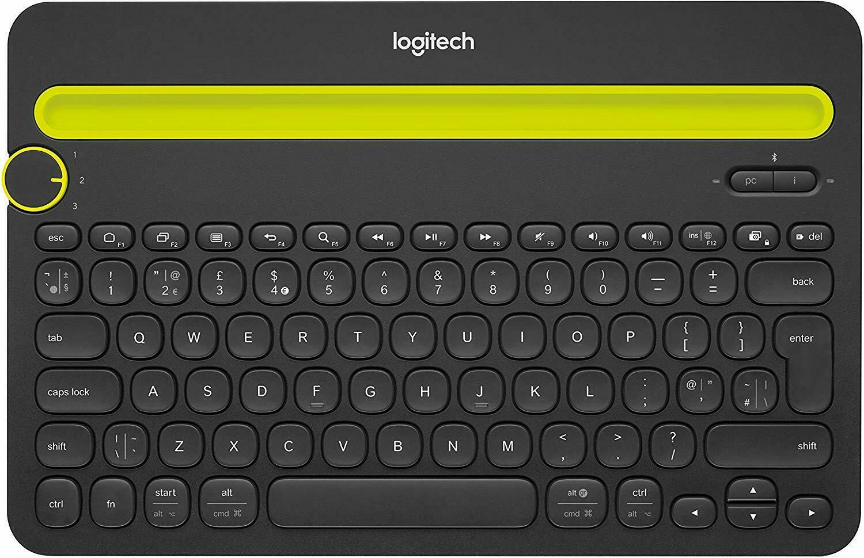 Logitech 920 006342 Bluetooth Multi Device Keyboard K480 Black   BRAND NEW