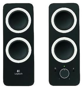 Logitech 980-000800 Logitech 2.0 Speaker System - Black