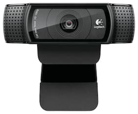 Logitech C920 HD Pro Webcam- USB 2.0-1280 x 1080 HD Video w/ Built-in Microphone