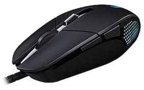Logitech G302 USB (Wired) Mouse (Black)