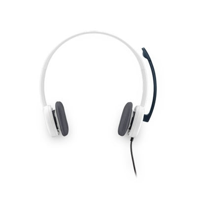 Logitech H150 Stereo Wired Headset (White)