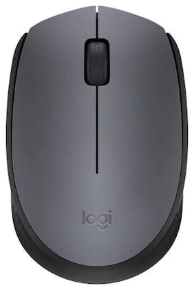 Logitech M171 Wireless Mouse ( Grey )