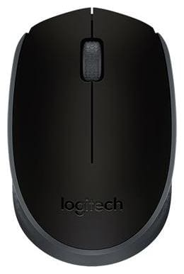 Logitech M170 Wireless Mouse ( Black )