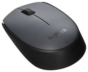 Logitech M170 Wireless Mouse  Black