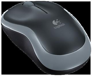 Logitech M185 Wireless Mouse ( Grey )