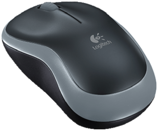 Logitech M185 Wireless Mouse ( Grey )
