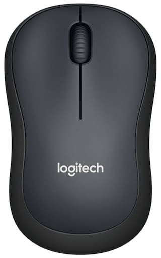 a790a4d1845 Buy Logitech M220 Silent Click Wireless Mouse (Black) Online at Low ...