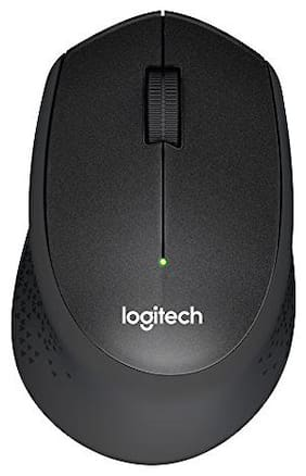 Logitech M330 Wireless Mouse (Black)