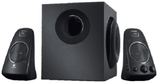 Logitech Z623 2.1 Wired Speaker ( Black )