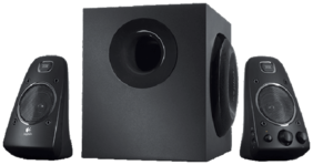 Logitech Z623 Wired Speaker ( Black )