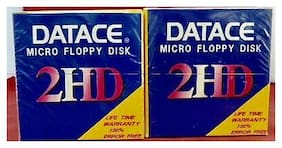 """(Lot 2)  Datace Diskette 2HD 3.5"""" Micro Floppy Disk PS/1+ PS/2  1.44 MB 10-Pack"""