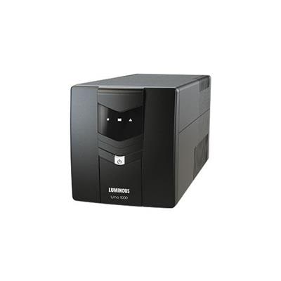 Luminous UNO 1000 VA UPS (Black)