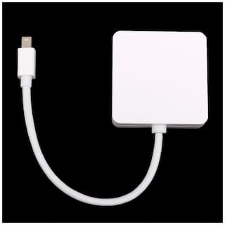 Buy Tech Gear Mini Dp Displayport To Hdmi Dvi Vga Adapter