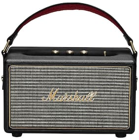 Marshall Kilburn Portable Speakers Wired & Bluetooth Speaker (Black)