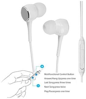Matt Pie Sam_wfr-1 In-ear Wired Headphone ( White )
