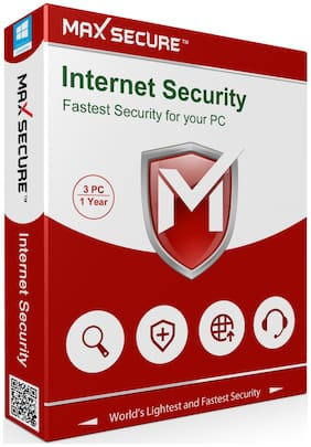 Max Secure Internet Security ( 3 Pc , 1 Year )