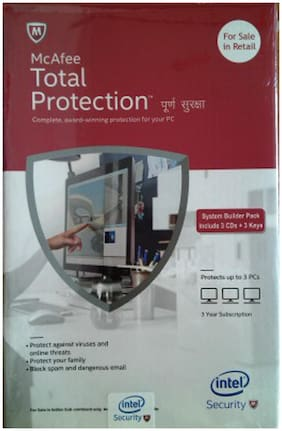 McAfee Intel Total Protection (3 User/3 Year)