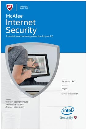 McAfee Internet Security (2015) (1 User/3 Years)