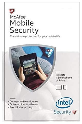McAfee Mobile Security ( 1 PC , 1 yr )