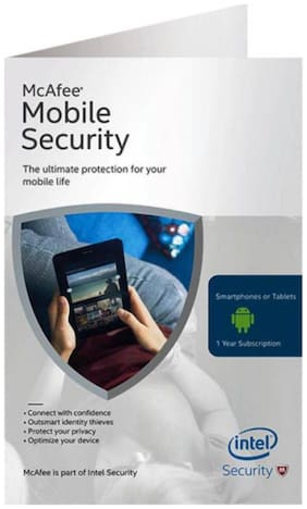 Mcafee Mobile Security Latest Version 1 PC 1 Year