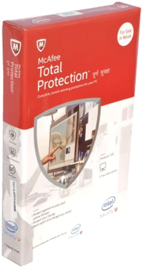McAfee Total security ( 1 pc , 3 years )