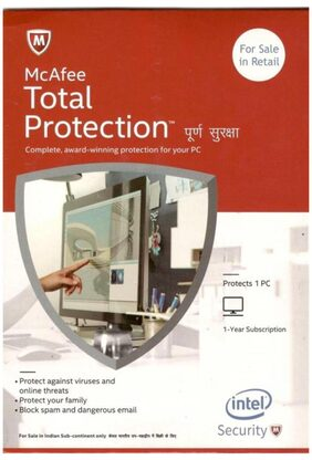 Mcafee Total Protection (3 User/1 Year)