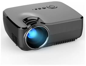 MDI GP70 HD Mini 1080 P w / HDMI VGA AV USB 800 lm LED Corded Portable Projector  (Black)