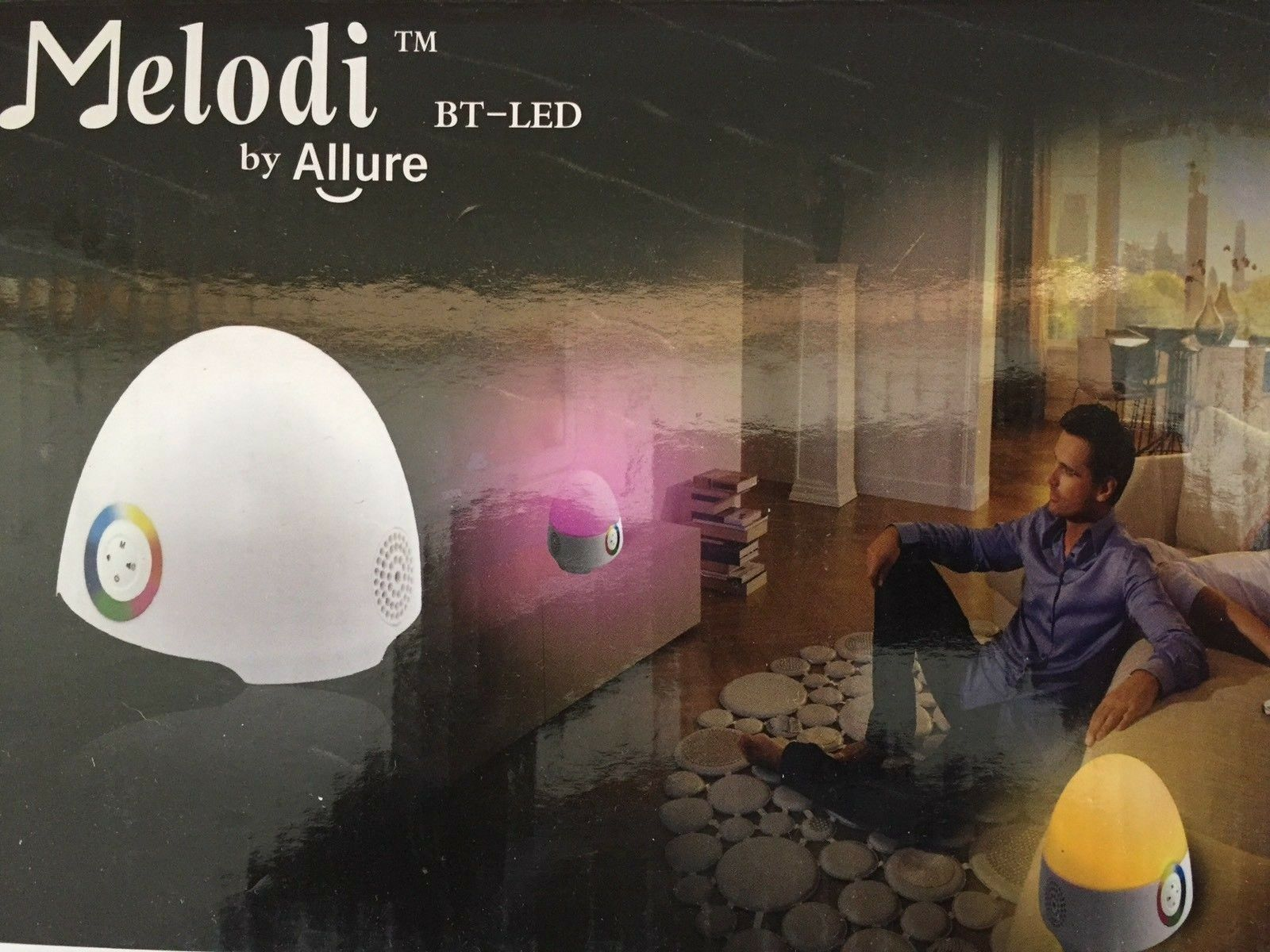 Melodi Bt led Bluetooth LED Color Changing Speaker