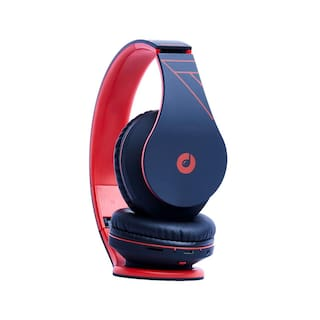 Melomane PASSIONBLACK&RED1-812 On-Ear Bluetooth Headset ( Black & Red )