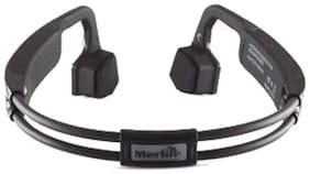Merlin On-Ear Bluetooth Headset ( Black )