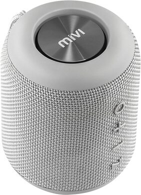 Mivi Octave Wireless portable bluetooth Speaker-Grey