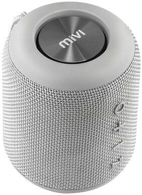 Mivi Octave Wireless portable bluetooth Speaker-Grey